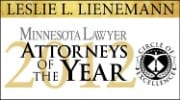 Attorney of the Year Leslie Lienemann 2012